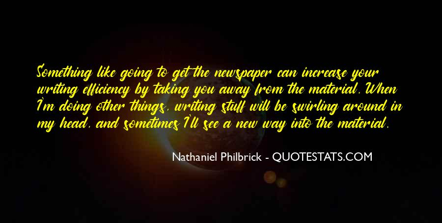 Quotes About Newspaper Writing #614691