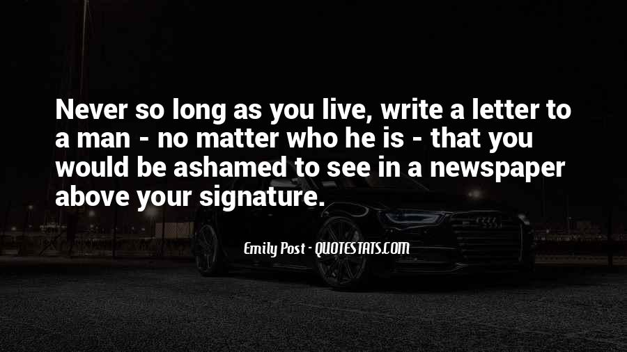 Quotes About Newspaper Writing #674086