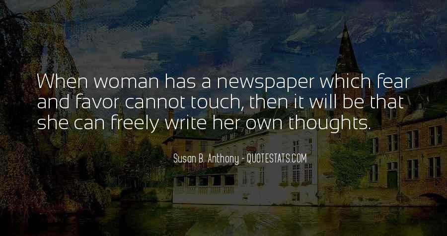 Quotes About Newspaper Writing #954698