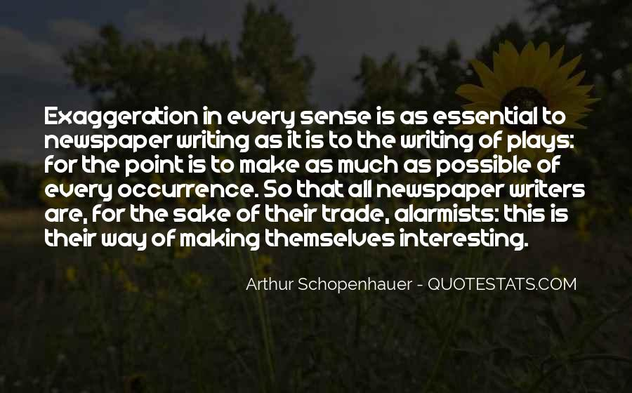 Quotes About Newspaper Writing #993940