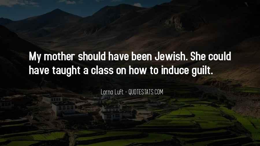 Jewish Guilt Sayings #1793098