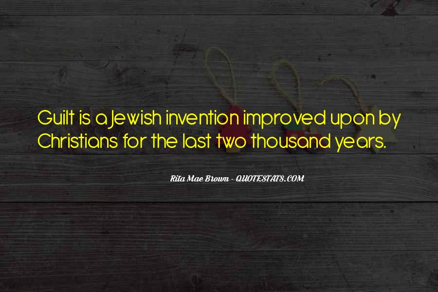 Jewish Guilt Sayings #451373