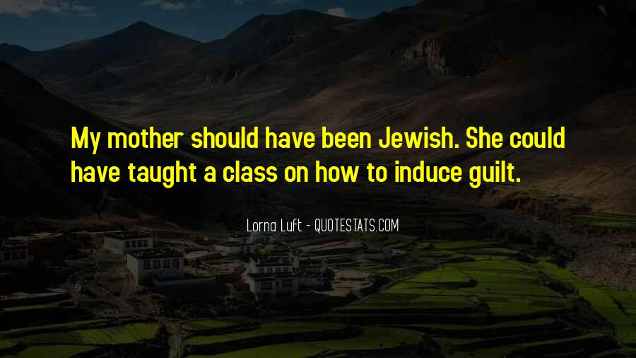 Jewish Mother Guilt Sayings #1793098