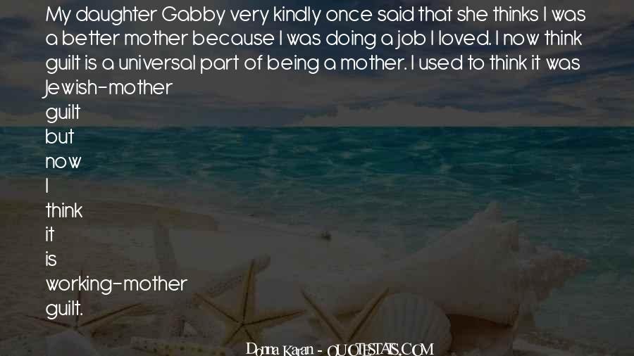 Jewish Mother Guilt Sayings #784857