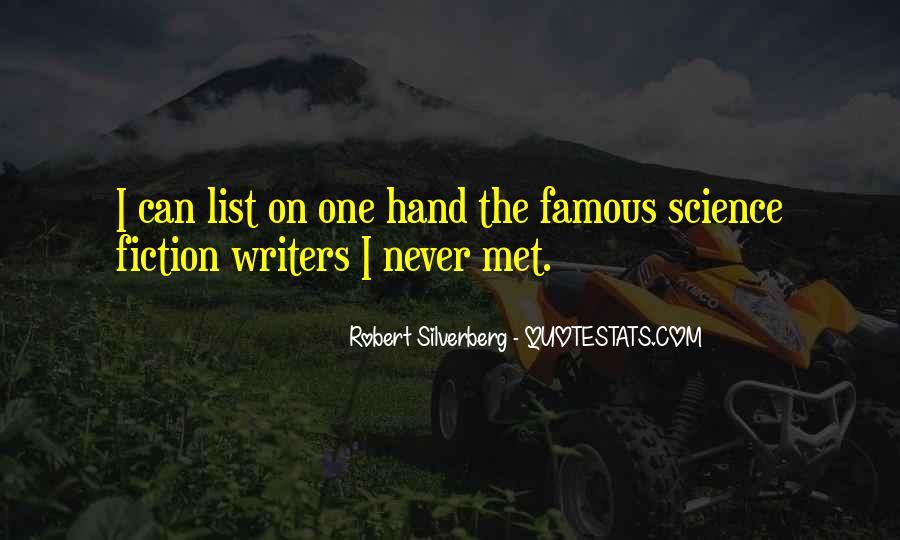 Famous Hand Sayings #1398329