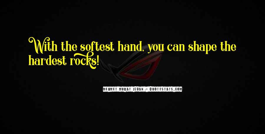 Famous Hand Sayings #1649445