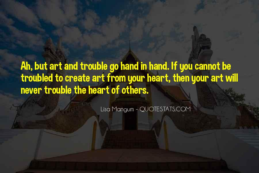 Heart And Hand Sayings #169357