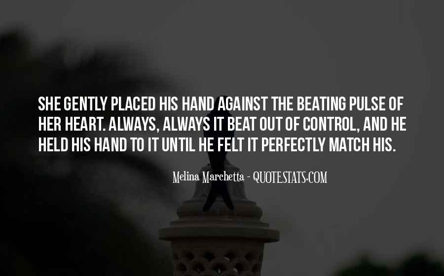 Heart And Hand Sayings #172774
