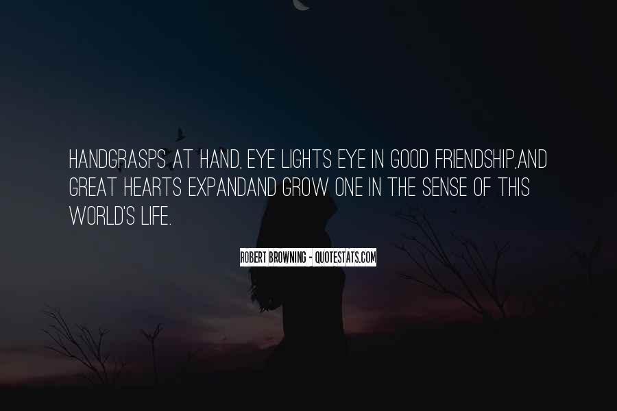Heart And Hand Sayings #195570