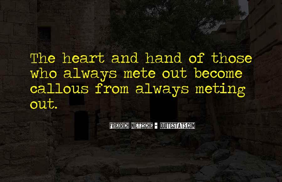 Heart And Hand Sayings #197613