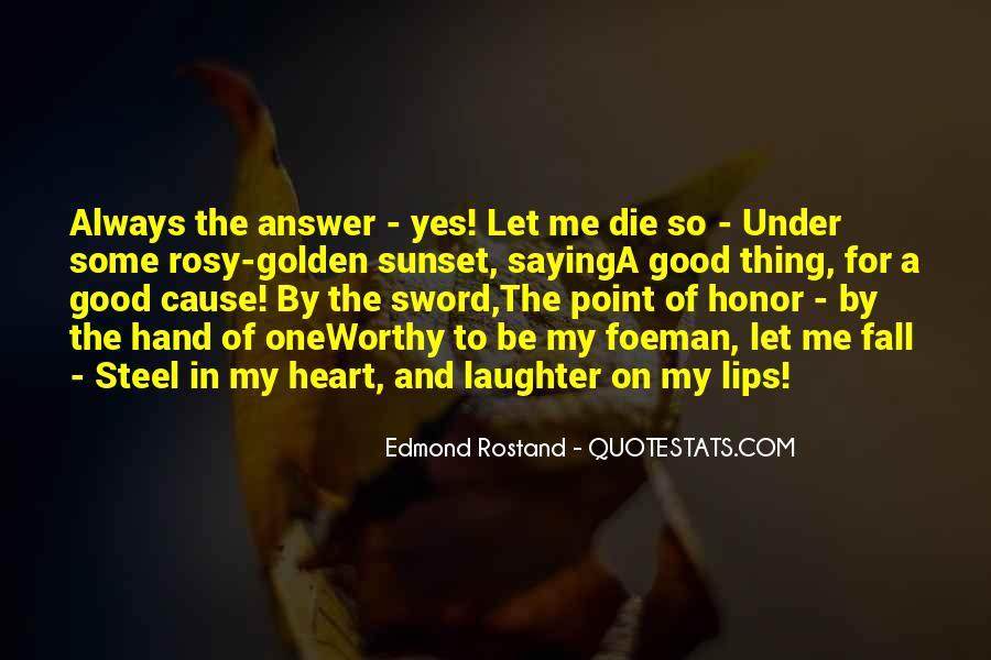 Heart And Hand Sayings #26243