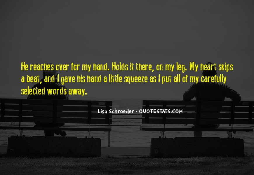 Heart And Hand Sayings #277505