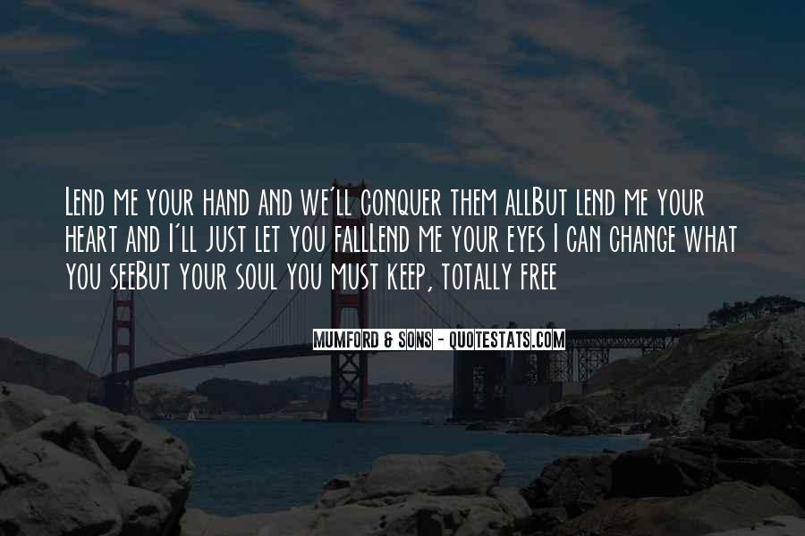Heart And Hand Sayings #361052