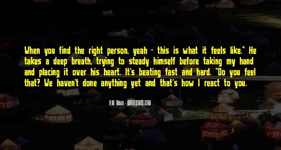 Heart And Hand Sayings #455639