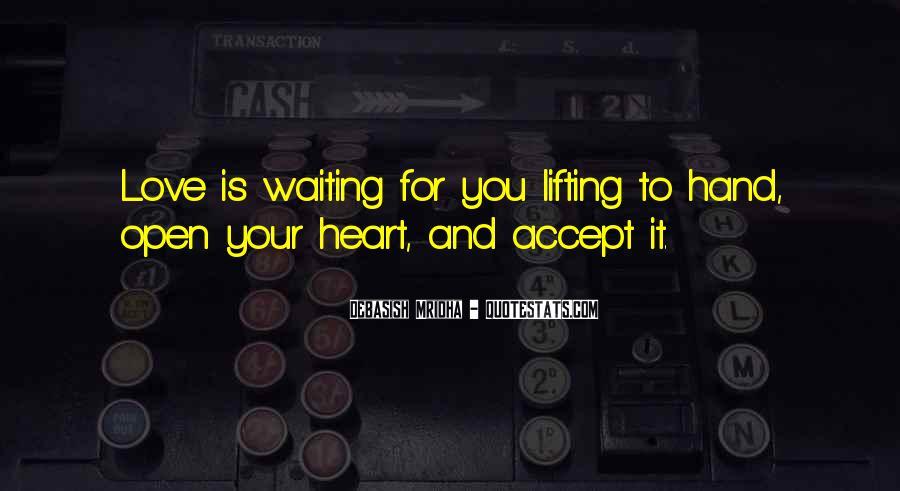 Heart And Hand Sayings #60893