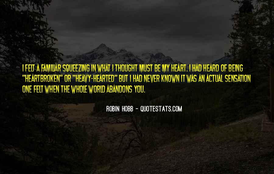 Best Heartbroken Sayings #108012