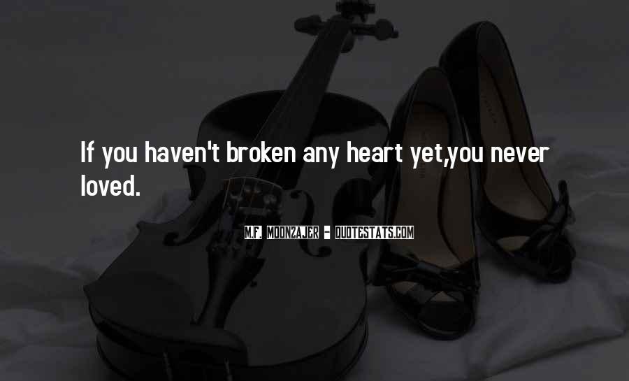 Best Heartbroken Sayings #116277