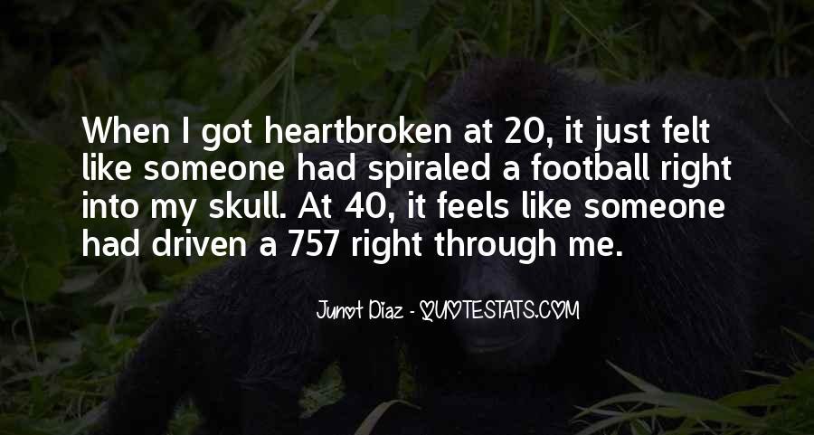 Best Heartbroken Sayings #186125