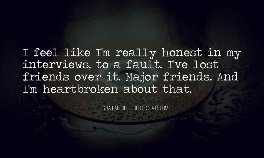 Best Heartbroken Sayings #74253