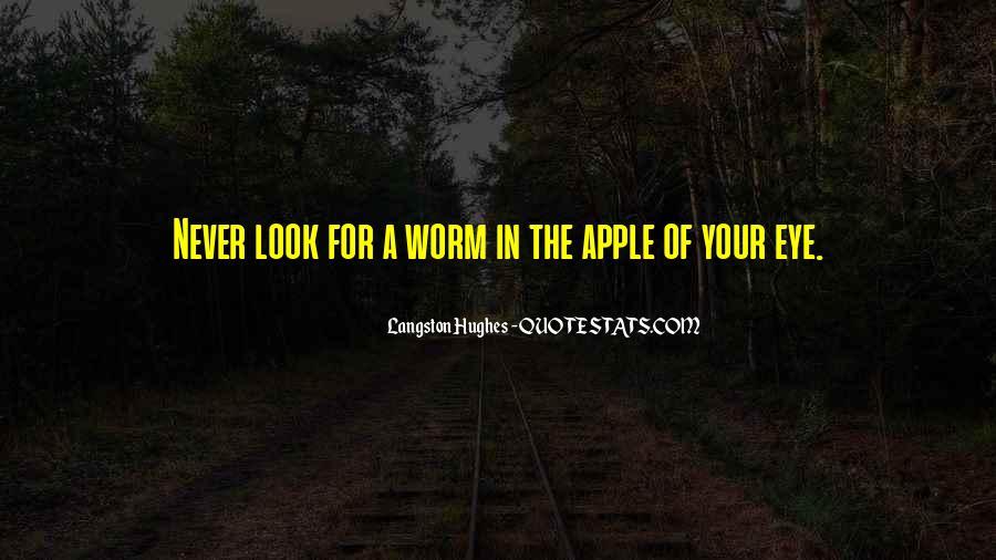 Apple Of Her Eye Sayings #1405551