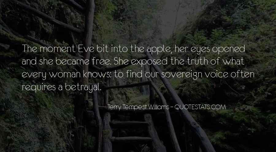 Apple Of Her Eye Sayings #257192