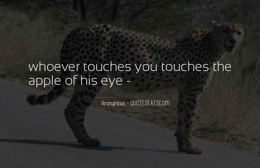 Apple Of Her Eye Sayings #477736