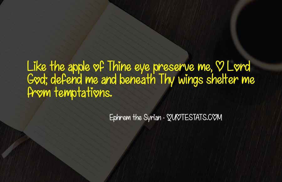 Apple Of Her Eye Sayings #994323