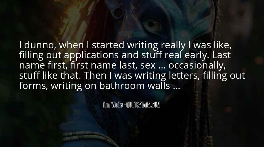 Quotes About First Name #112816
