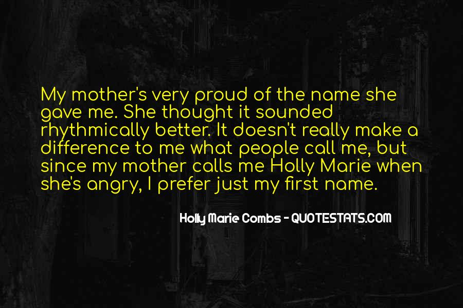 Quotes About First Name #340825