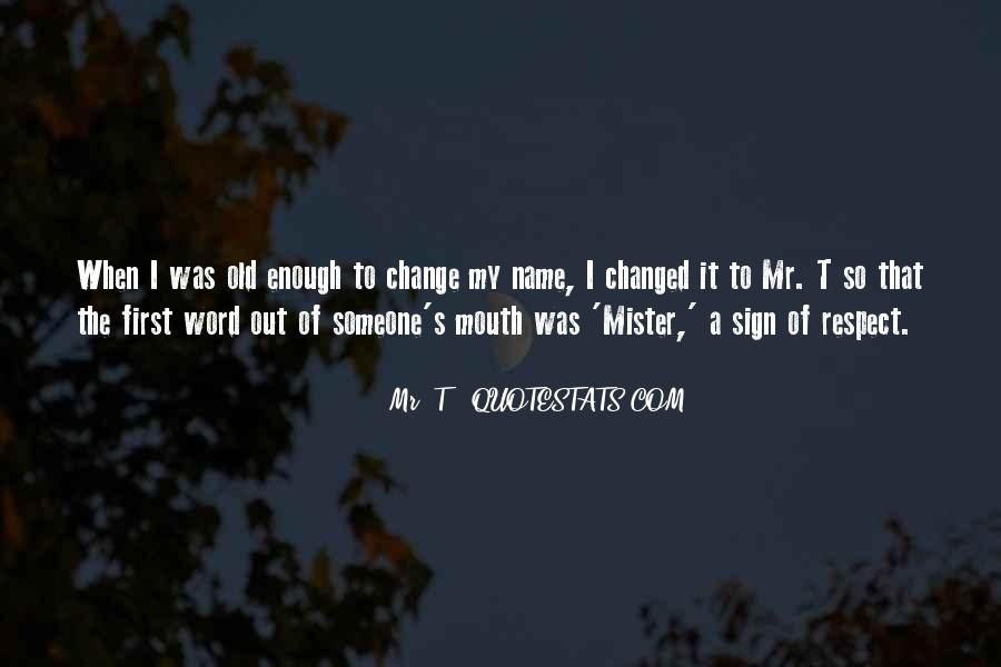 Quotes About First Name #391870