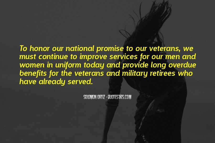 Military Honor Sayings #1722128