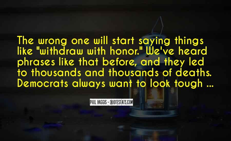 Honor Phrases Sayings #697781