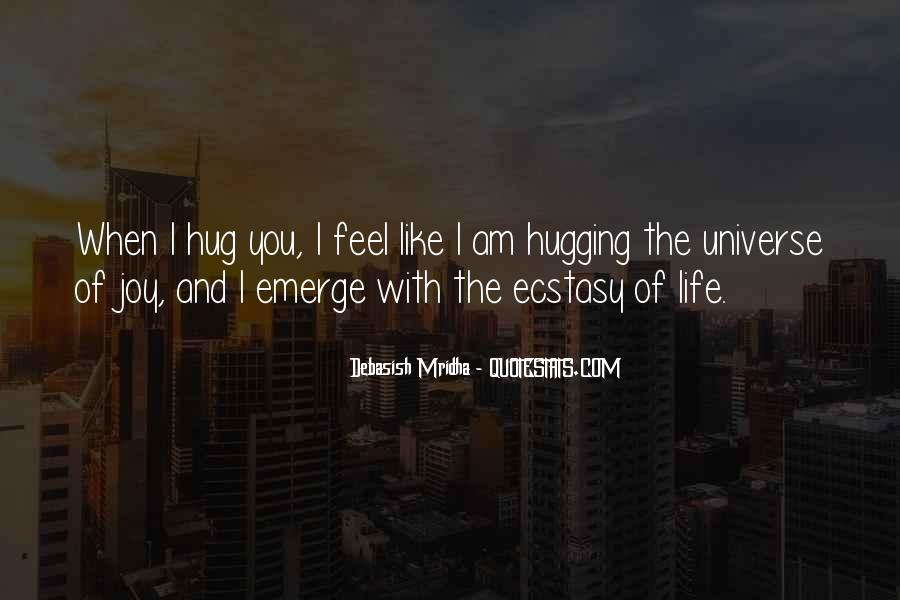 Hugging Quotes And Sayings #1787438