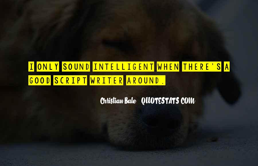 Good Intelligent Sayings #1001509