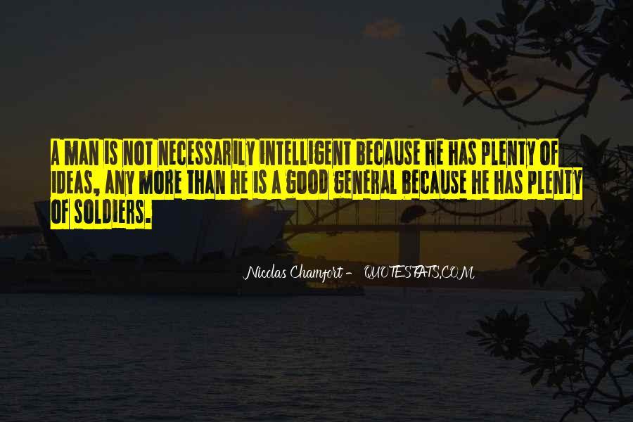 Good Intelligent Sayings #1116849