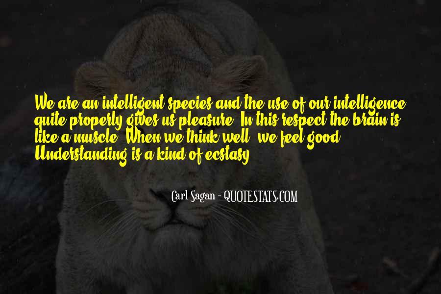 Good Intelligent Sayings #1172317