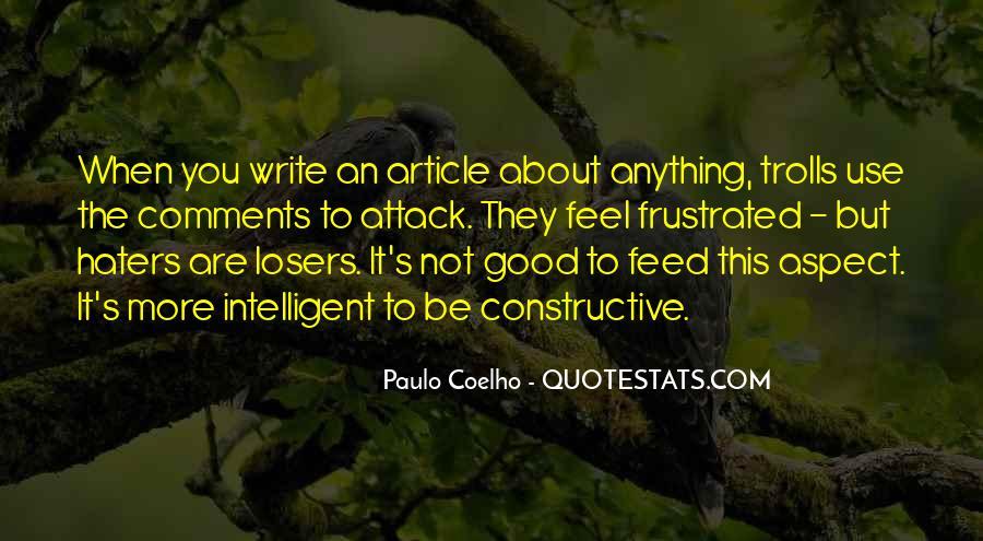 Good Intelligent Sayings #1294251