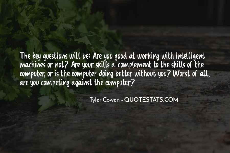 Good Intelligent Sayings #395208
