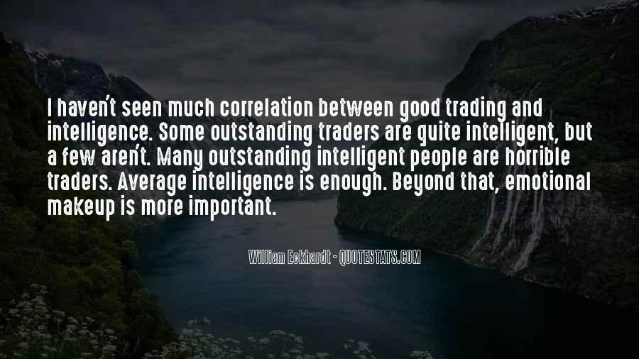 Good Intelligent Sayings #432574