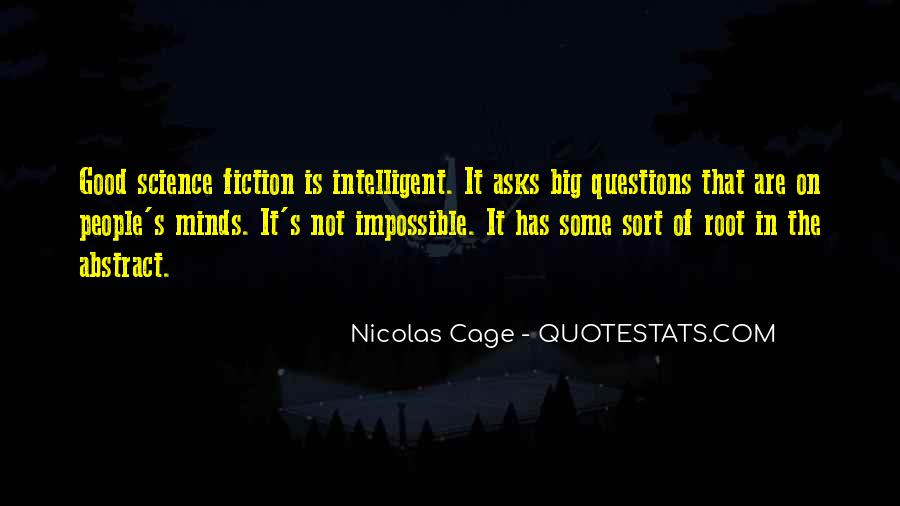 Good Intelligent Sayings #556731