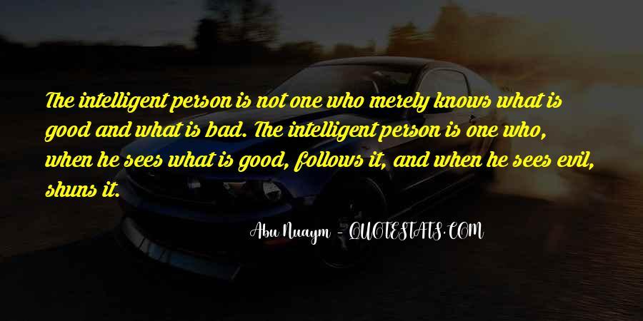 Good Intelligent Sayings #926333