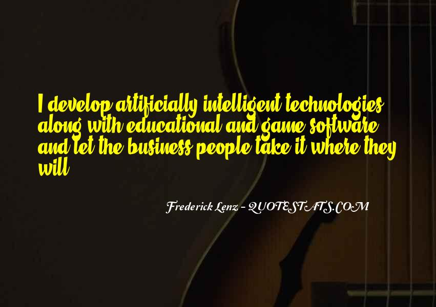 Intelligent Business Sayings #608318
