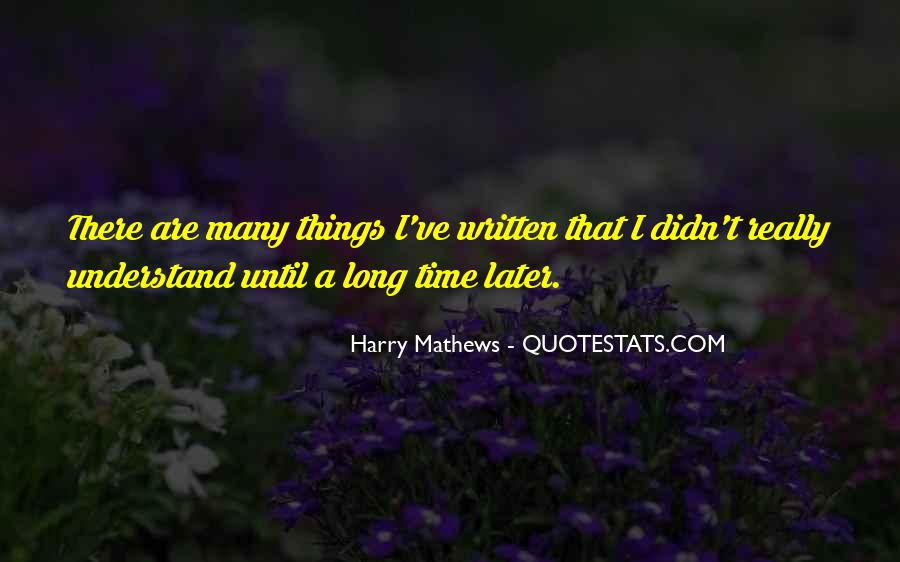 Until Later Sayings #137306