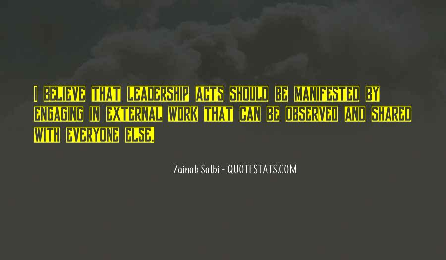 Quotes About Shared Leadership #1169046