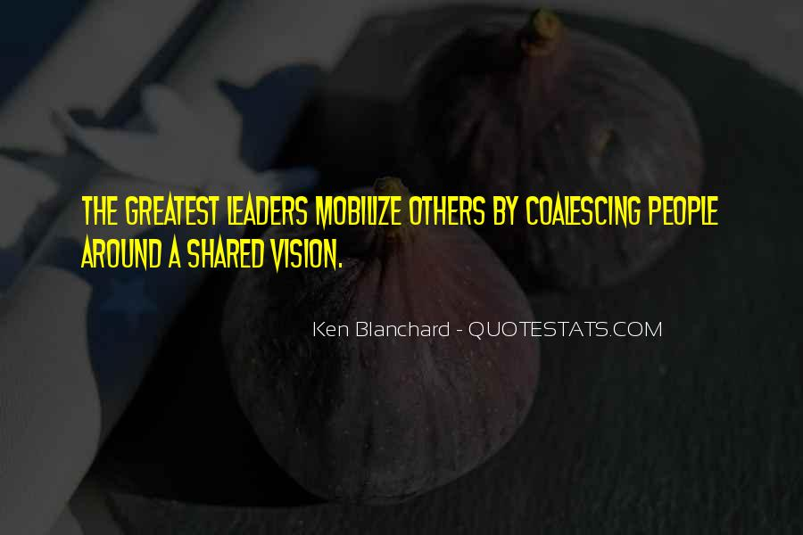 Quotes About Shared Leadership #1279692