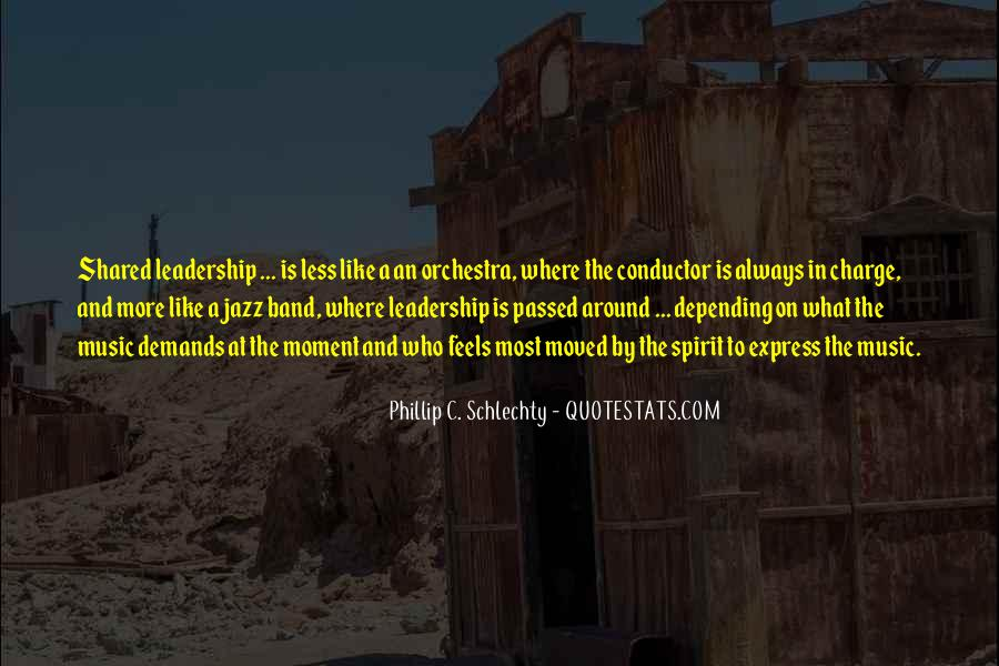 Quotes About Shared Leadership #1636206