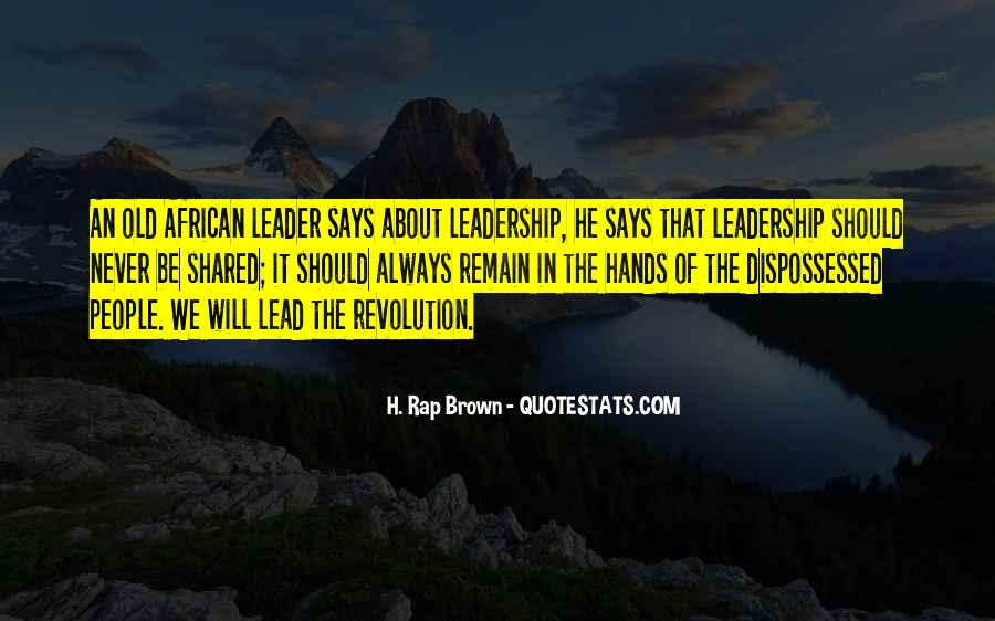 Quotes About Shared Leadership #410612