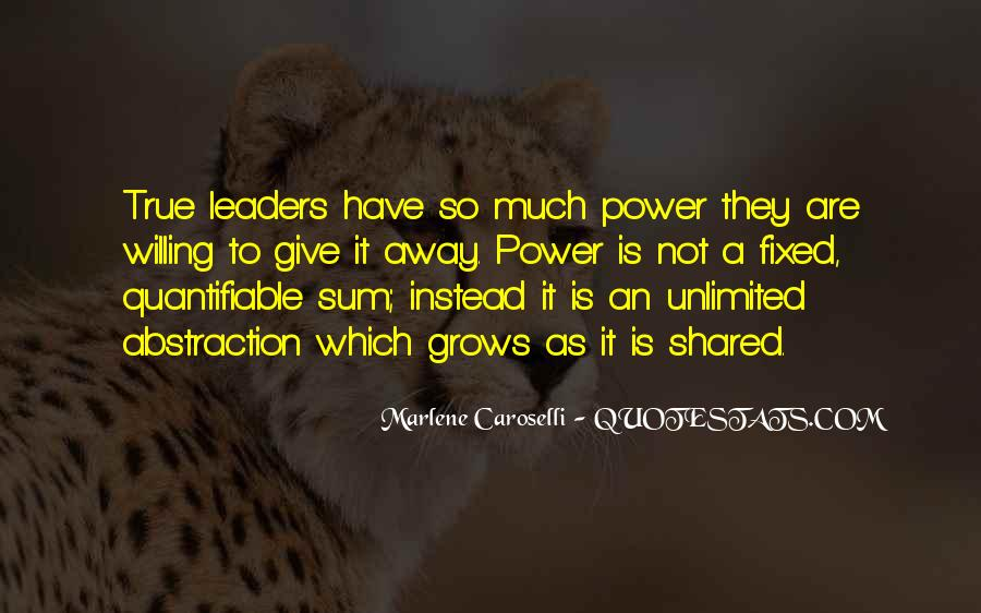 Quotes About Shared Leadership #434746
