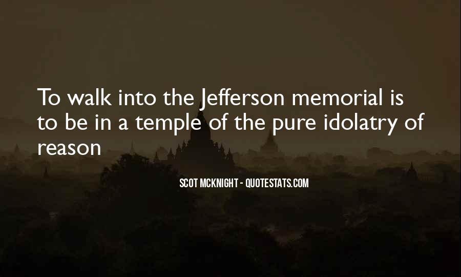 Jefferson Memorial Sayings #1788923