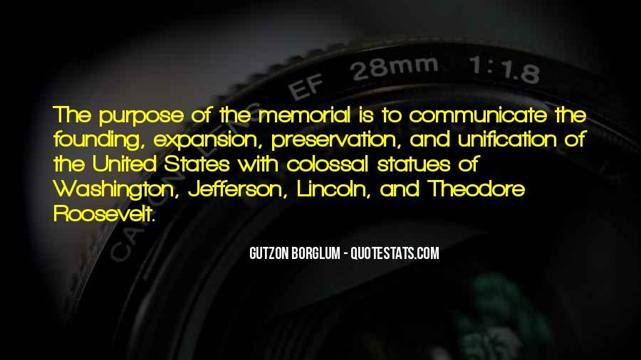 Jefferson Memorial Sayings #1818760